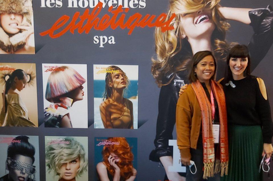 Laure Jeandemange&Ruth Indiathi au 50ème congrès des Nouvelles Esthétiques&Spa 2021